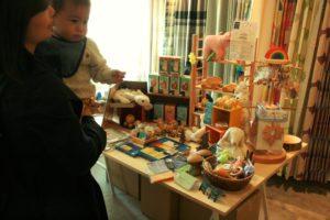 よくねる文化祭 福岡おもちゃ箱さんによるワークショップ